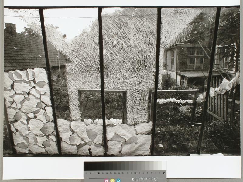 Svatopluk Klimes Sklenik Kresba Kridou 2 Faze Moravska Galerie