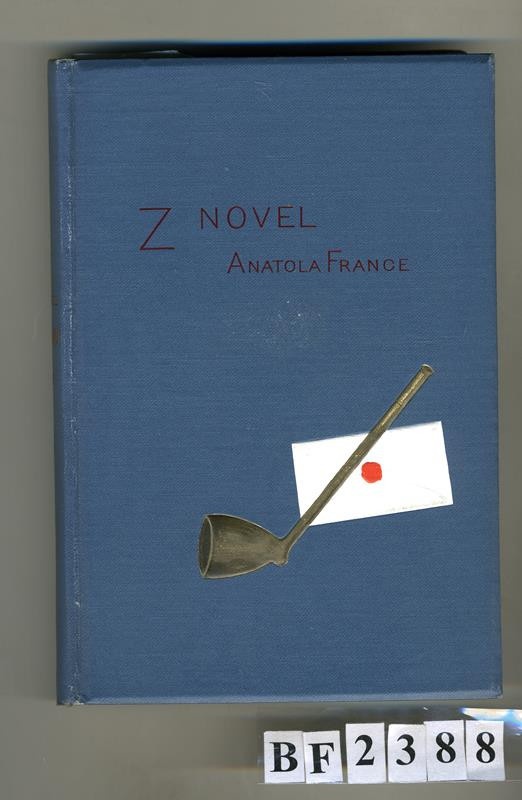 Jan Otto, Anatole France - Z novel Anatola France