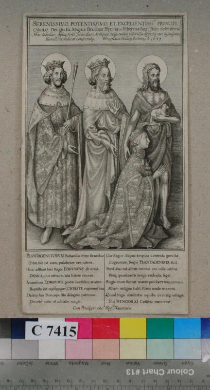 Václav (Wenceslaus) Hollar - Diptychon  Richarda  II.