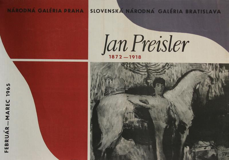 neurčený autor - Jan Preisler 1872-1918. SNG 1965