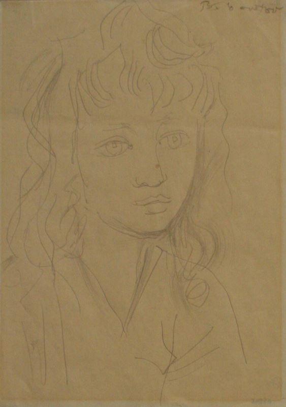 Andrej Belocvetov Kresba Studie Zeny Moravska Galerie V Brne
