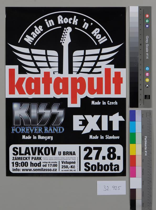 neznámý - Katapult, Made in Rock ´n´ Roll, Made in Czech KISS (Hungary), Exit (Slavkov)